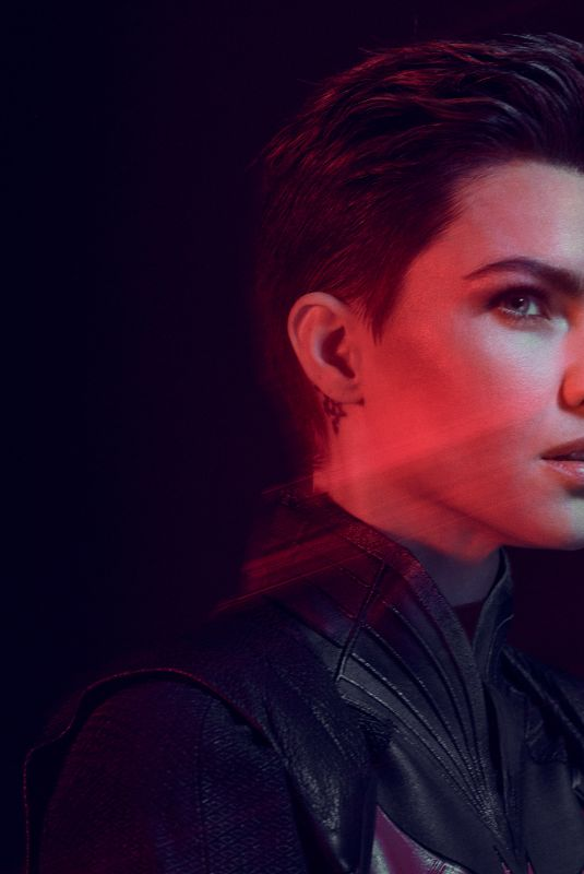 RUBY ROSE for Entertainment Weekly, August 2019
