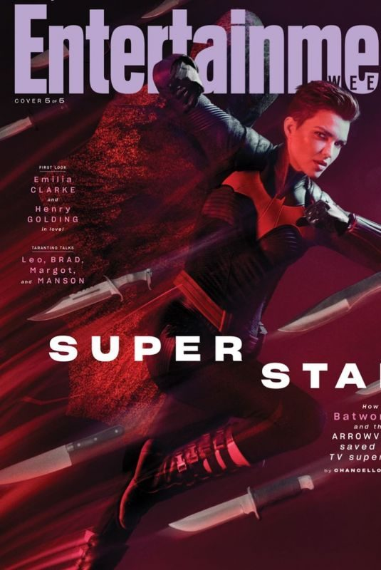 RUBY ROSE in Entertainment Weekly, August 2019