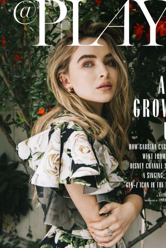 SABRINA CARPENTER for Marie Claire Magazine, June 2019