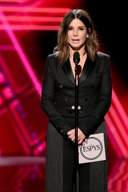 SANDRA BULLOCK at 2019 ESPY Awards in Los Angeles 07/10/2019
