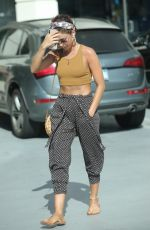 SARAH HYLAND Out and About in Los Angeles 07/17/2019
