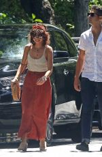 SARAH HYLAND Out and About in Studio City 06/29/2019
