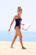 SARAH JESSICA PARKER in Swimsuit at a Beach in Hamptons 07/07/2019
