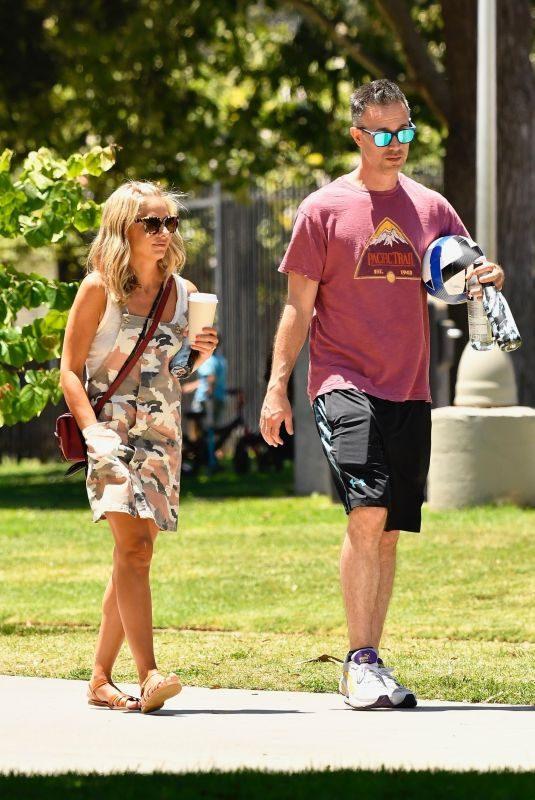 SARAH MICHELLE GELLAR and Freddie Prinze Jr. Out in Santa Monica 07/20/2019