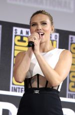SCARLETT JOHANSSON and RACHEL WEISZ at Marvel Panel at Comic-con 2019 in San Diego 07/20/2019