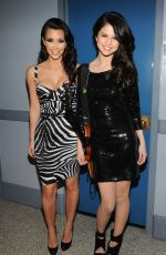 SELENA GOMEZ and KIM KARDASHIAN at The Tonight Show Starring Jimmy Fallon 02/12/2010