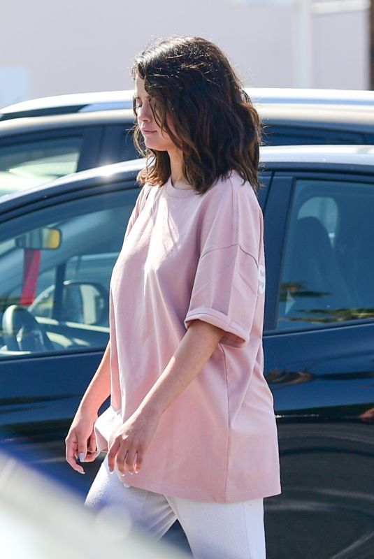SELENA GOMEZ Out and Abour in Los Angeles 07/05/2019