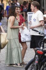 SELENA GOMEZ Out and About in Rome 07/22/2019