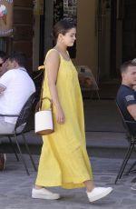 SELENA GOMEZ Out in Civita Di Bagnoregio 07/24/2019