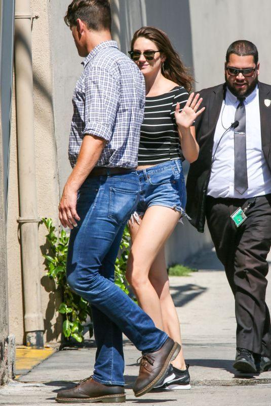 SHAILENE WOODLEY Arrives at Jimmy Kimmel Live! in Hollywood 07/15/2019