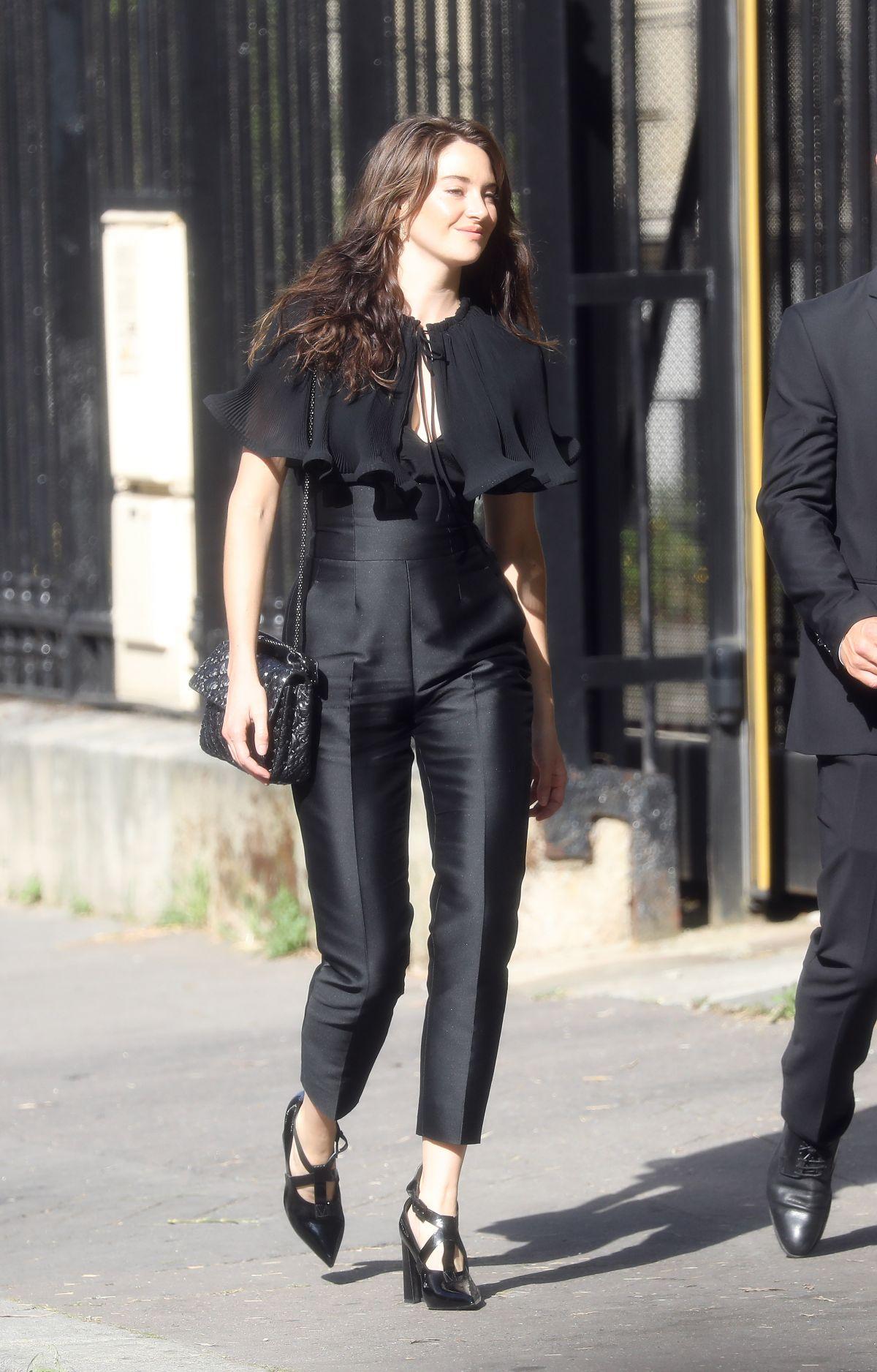 Shailene Woodley Arrives At Zoe Kravitz And Karl Glusman