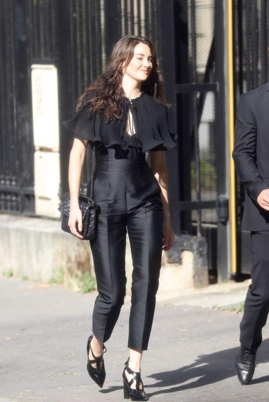 SHAILENE WOODLEY Arrives at Zoe Kravitz and Karl Glusman Wedding in Paris 06/29/2019