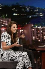 SHAILENE WOODLEY at Jimmy Kimmel Live in Hollywood 07/15/2019