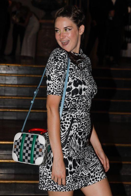 SHAILENE WOODLEY at Vogue Paris Foundation Gala in Paris 07/02/2019