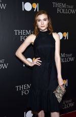 SKYLER SAMUELS at Them That Follow Premiere in Los Angeles 07/30/2019