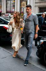 SOFIA VERGARA and Joe Manganiello at Avra Restaurant in New York 07/17/2019