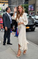 SOFIA VERGARA Arrives at Late Show in New York 07/17/2019