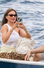 SOFIA VERGARA Celebrates Her 47th Birthday on Holiday in Capri 07/11/2019