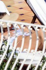 SOFIA VERGARA in Bikini on Holiday in Amalfi Coast 07/08/2019