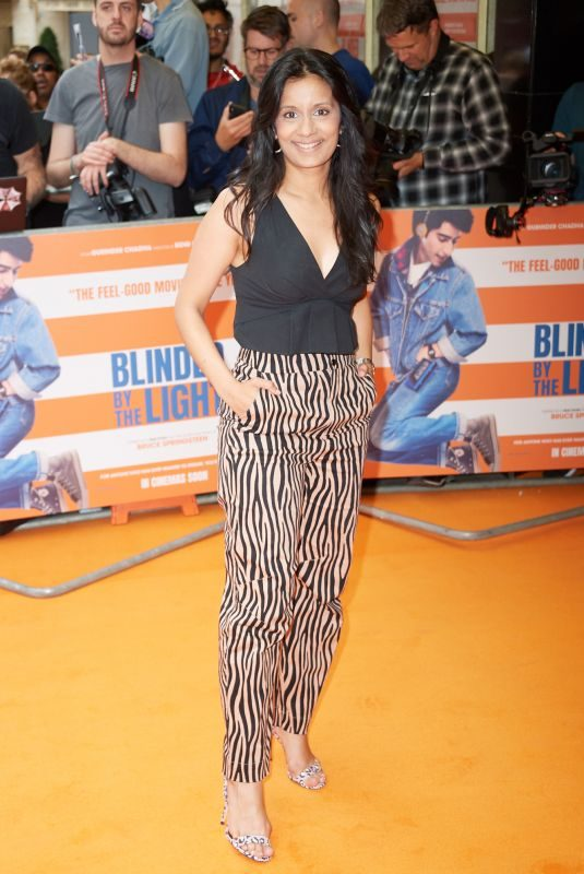 SONALI SHAH at Blinded by the Light Premiere in London 07/29/2019