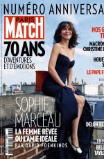 SOPHIE MARCEAU in Paris Match Magazine, June/August 2019 Issue