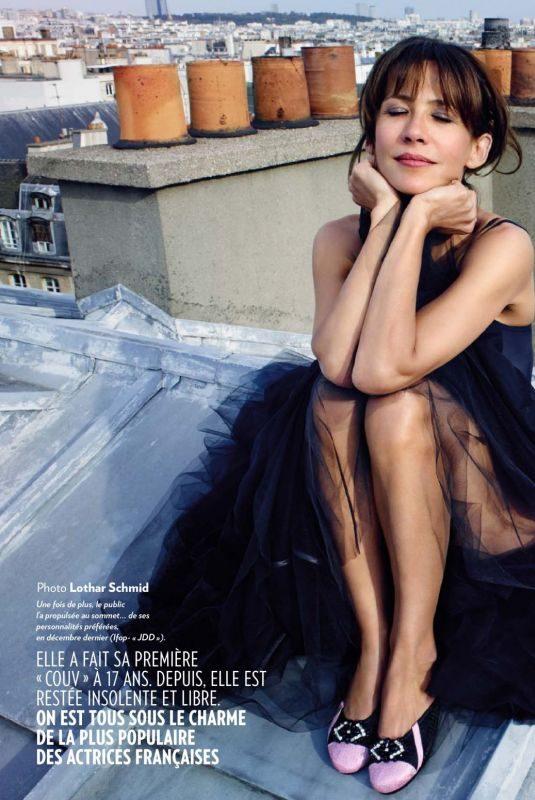 SOPHIE MARCEAU in Paris Match Magazine, June/August 2019 Issue