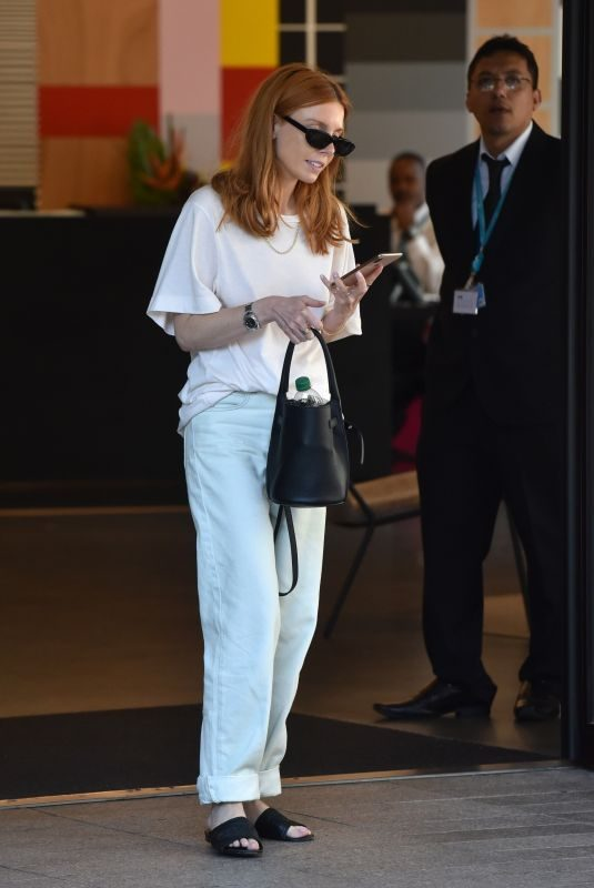 STACEY DOOLEY Leaves ITV Studio in London 07/23/2019