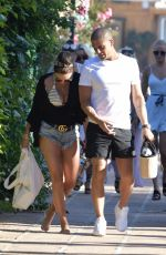 STACEY GIGGS and Max George Out in Marbella 07/18/2019