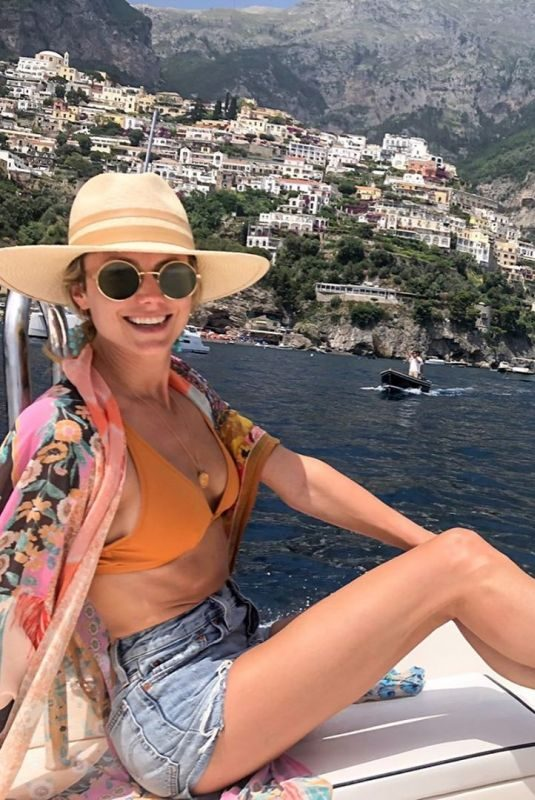 STACY KEIBLER at Amalfi Coast – Instagram Picture 06/30/2019