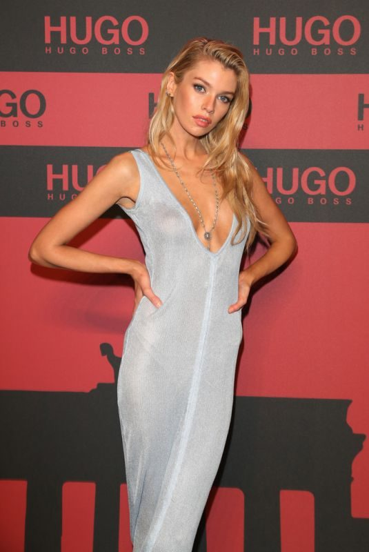 STELLA MAXWELL at Hugo Launch Party 07/03/2019
