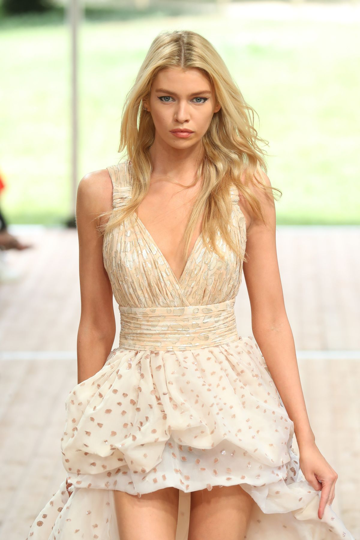 STELLA MAXWELL at Redemption Haute Couture Fall/Winter