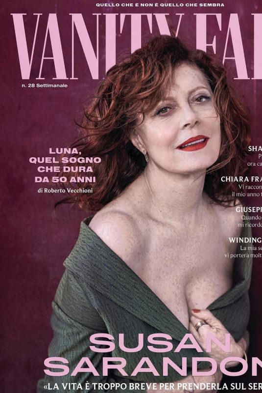 SUSAN SARANDON for Vanity Fair Magazine, Italy July 2019