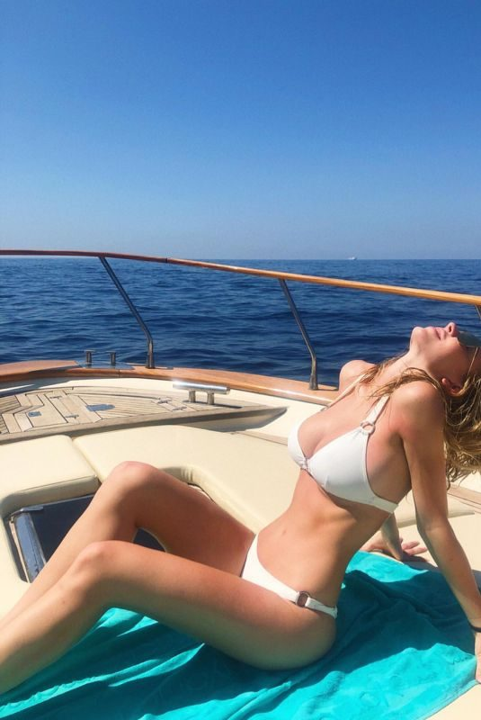 SYDNEY SWEENEY in Bikini at a Boat – Instagram Pictures 07/06/2019