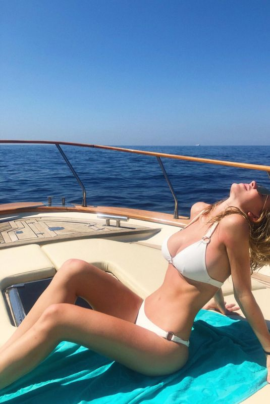 SYDNEY SWEENEY in Bikini at a Boat - Instagram Pictures 07/06/2019