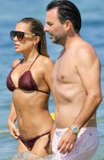 SYLVIE MEIS in Bikini on the Beach in Saint Tropez 07/23/2019
