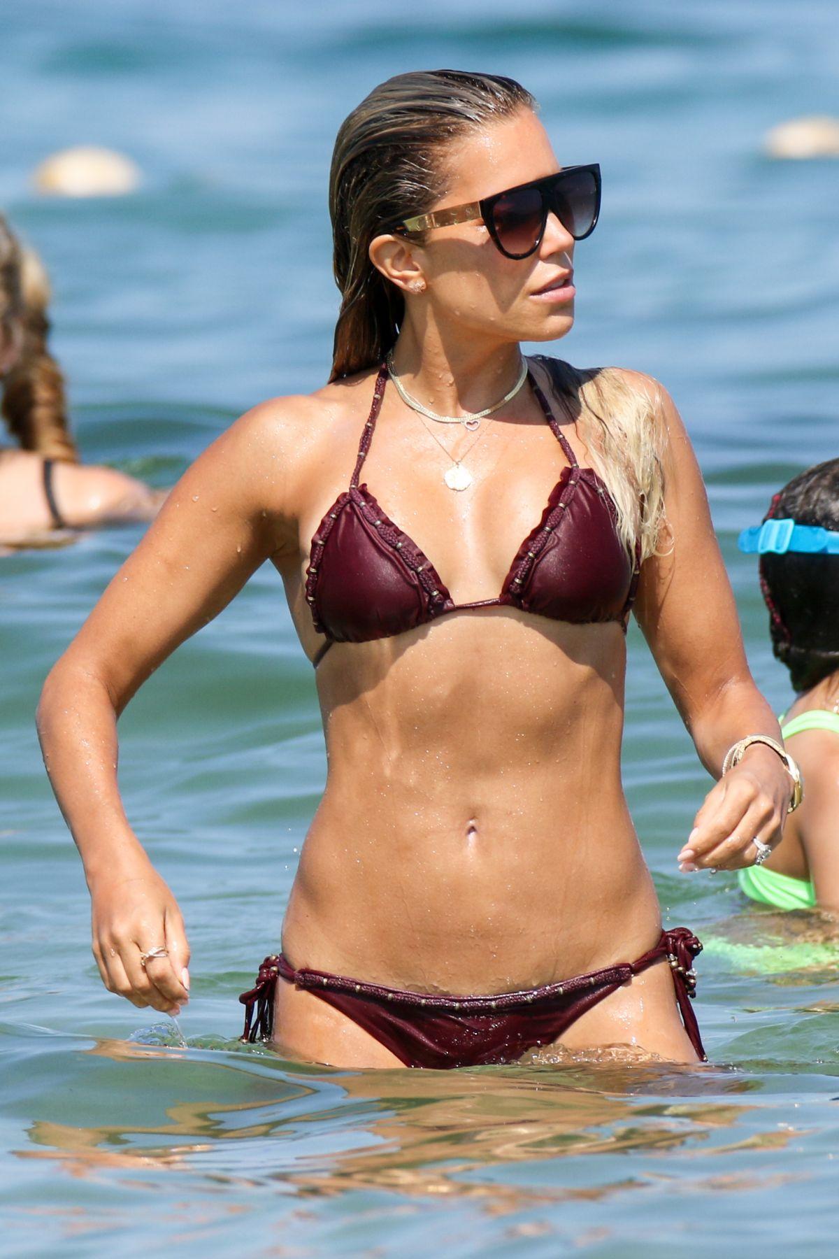Sylvie Meis Bikini Saint Tropez