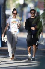 TATIANA DIETEMAN and Tobey McGuire Out in West Hollywood 07/23/2019