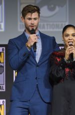 TESSA THOMPSON at Marvel Panel at Comic-con 2019 in San Diego 07/20/2019