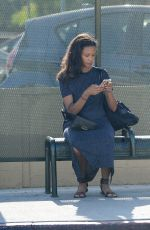 THANDIE NEWTON Out in Los Angeles 07/26/2019