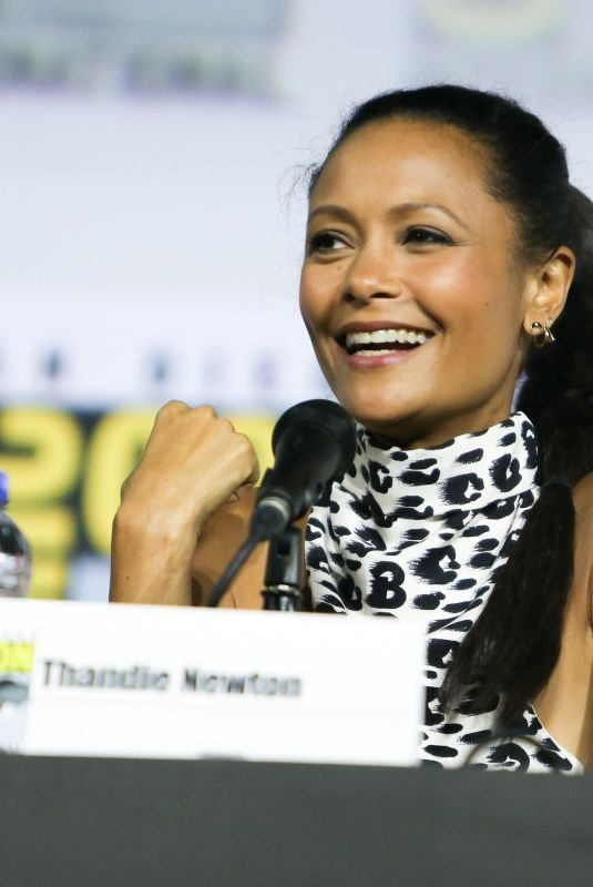 THANIDE NEWTON at Westworld, Season 3 Panel at Comic-con International in San Diego 07/20/2019