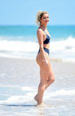 TINA STINNES in Bikini at a Beach in Miami 07/15/2019
