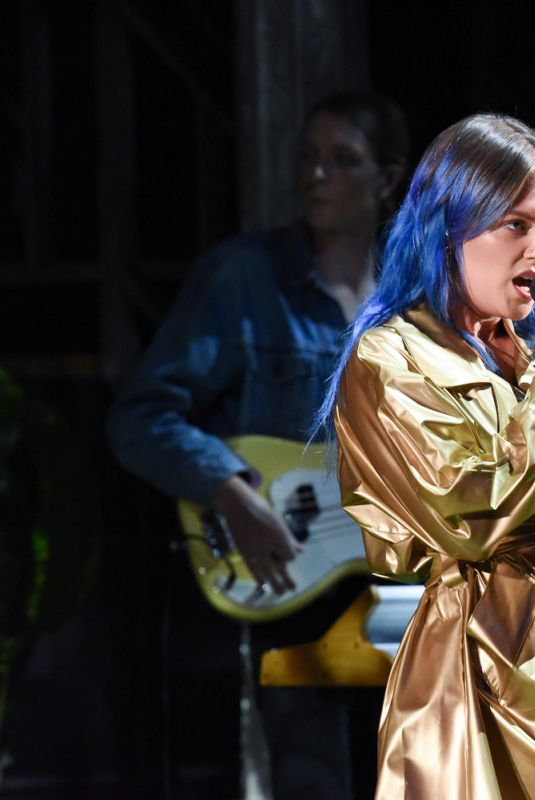 TOVE LO Performs at Late Show with Stephen Colbert 07/17/2019
