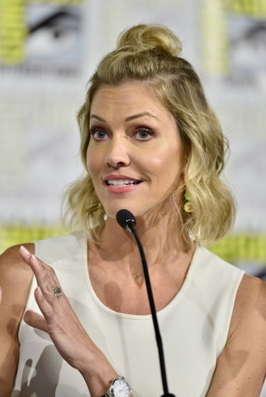 TRICIA HELFER at Creepshow Panel at Comic-con 2019 in San Diego 07/19/2019