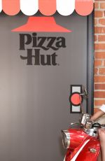TRICIA HELFER at Pizza Hut Lounge at 2019 Comic-con International in San Diego 07/18/2019