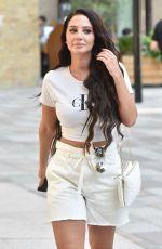 TULISA CONTOSTAVLOS Arrives at ITV Studios in London 07/23/2019