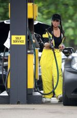 TULISA CONTOSTAVLOS at a Gas Station in London 06/25/2019
