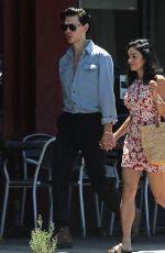 VANESSA HUDGENS and Austin Butler Out in Los Feliz 07/15/2019