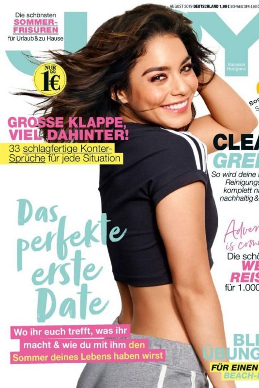 VANESSA HUDGENS on the Cover of Joy Magazine, Germany August 2019