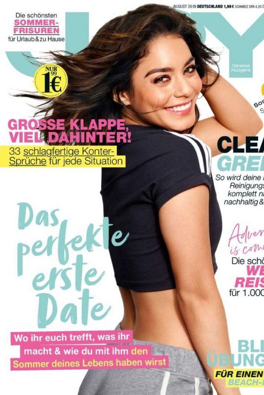 VANESSA HUDGENS on the Cover of Joy Magazine, Germany August 2019
