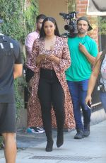 VANESSA SIMMONS at Alfred Coffee in Beverly Hills 07/30/2019